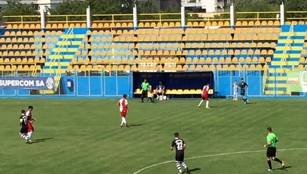 Romanya'da ilginç maç! 18-0