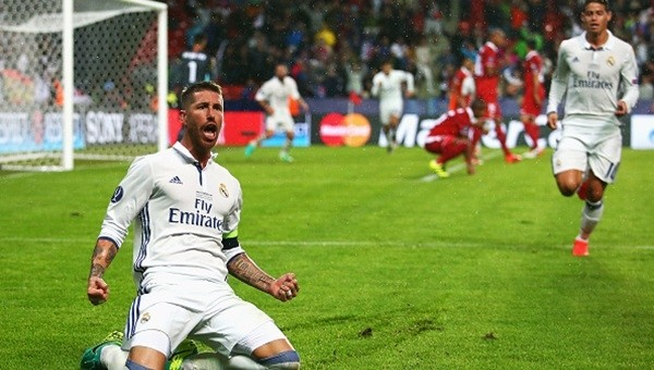Süper Kupa Real Madrid'in!