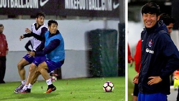 Trabzonspor'da Suk idmanlara başladı