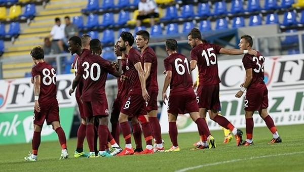 Trabzonspor'da Onazi ve Castillo ilk maçına çıktı