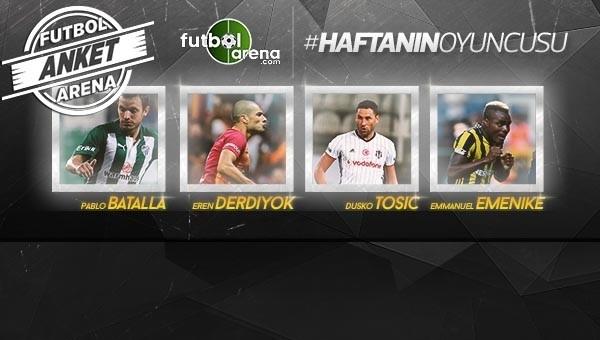 Süper Lig'de 4. haftanın en iyisini seçiyoruz!
