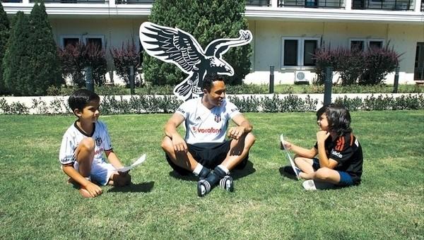 Adriano: 'Beşiktaş'ta kupa kaldırmak istiyorum'