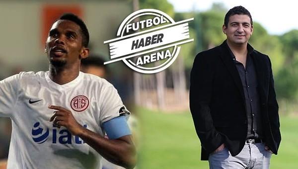 Antalyaspor'da Samuel Eto'o gerginliği