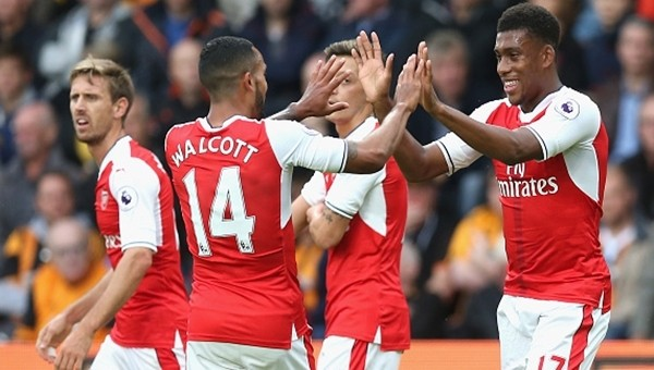 Arsenal'den 4 gollü galibiyet