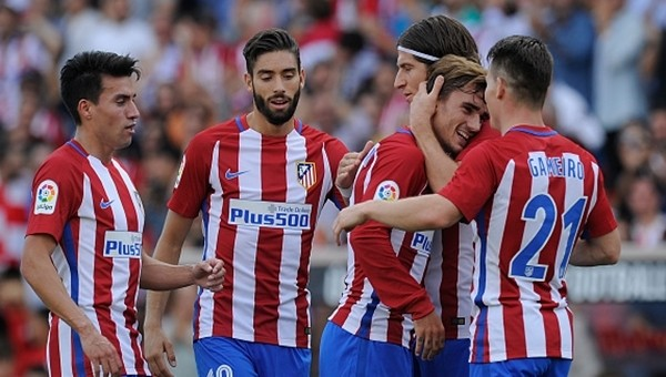 Atletico Madrid 5 - 0 Sporting Gijon maçın özeti ve golleri