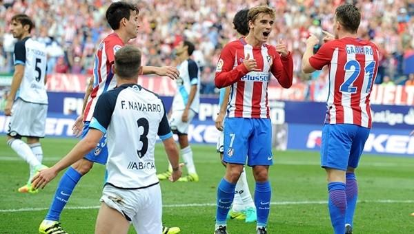 Atletico Madrid'ten Emre'li Deportivo'ya tek kurşun