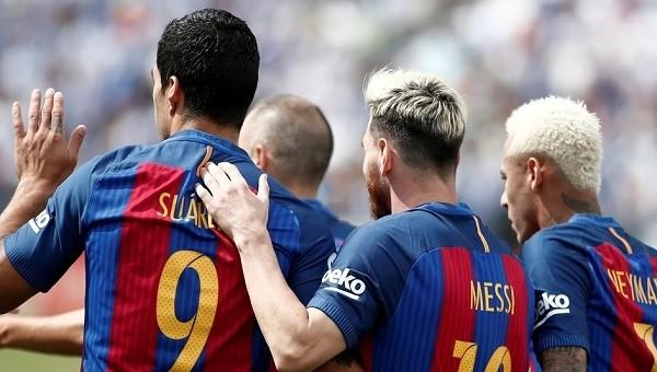 Barcelona gol yağdırdı