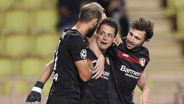 Monaco 1 - 1 Bayer Leverkusen maç özeti ve golleri