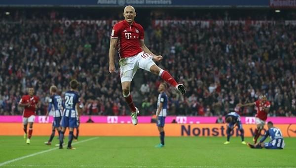 Bayern Münih 3 - 0 Herta Berlin maç özeti ve golleri
