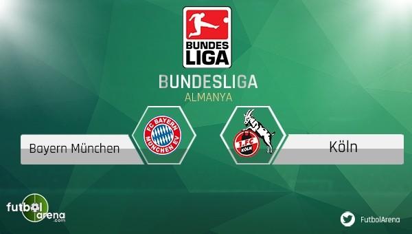 Bayern Münih, Köln maçı saat kaçta, hangi kanalda?