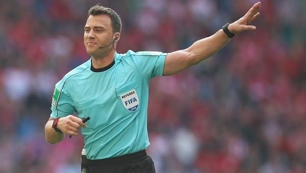 Beşiktaş - Dinamo Kiev maçının hakemi