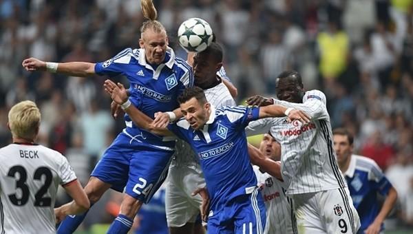 Beşiktaş - Dinamo Kiev maçının kaderini değiştiren detay