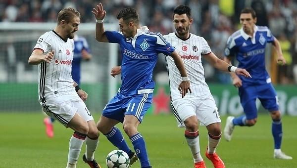 Beşiktaş, Devler Ligi'nde ilk iki sırada