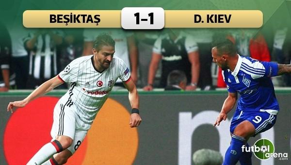 Beşiktaş, Dinamo Kiev'e takıldı - Beşiktaş 1 - 1 Dinamo Kiev maç özeti ve golleri