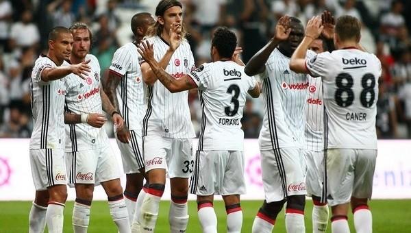 Beşiktaş, Gaziantepspor'u farklı geçti