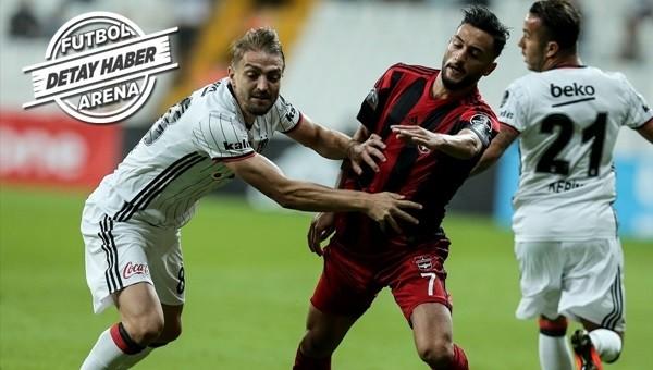 Beşiktaş hazırlık maçında Fenerbahçe'ye yaklaştı