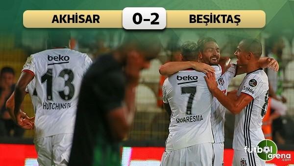 Beşiktaş, Manisa'da hata yapmadı