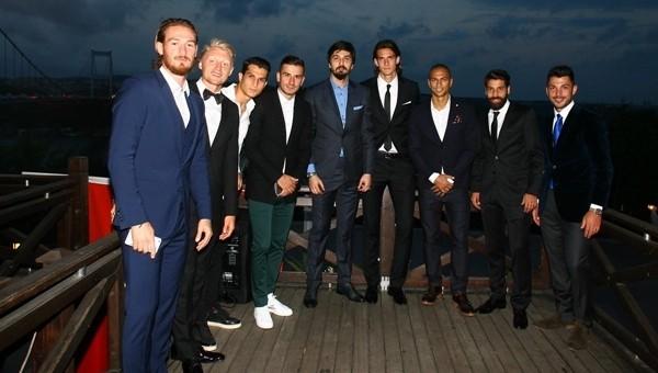 Beşiktaş nikah törenine akın etti