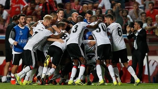 Beşiktaş Şampiyonlar Ligi'nde savaşıyor!