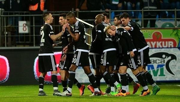 Beşiktaş'ın Çaykur Rizespor'a karşı üstünlüğü