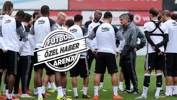 Beşiktaş'ın derbi 11'i netleşiyor