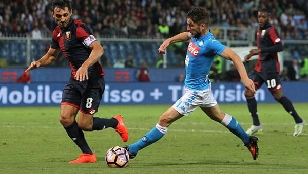Genoa 0 - 0 Napoli maç özeti