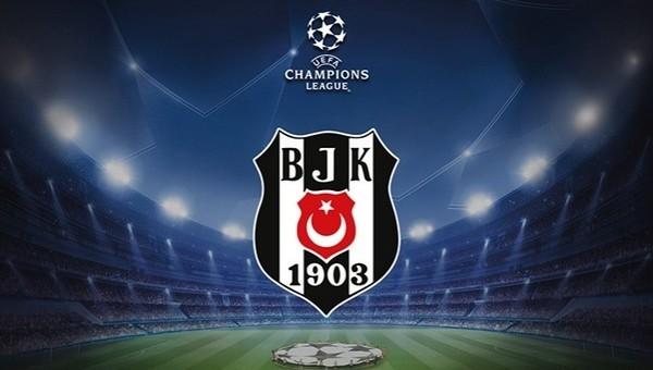 Beşiktaş'ın Şampiyonlar Ligi kadrosu