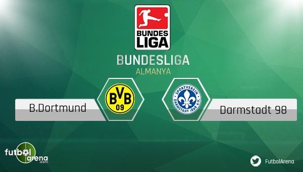 Borussia Dortmund - Darmstadt maçı saat kaçta, hangi kanalda?