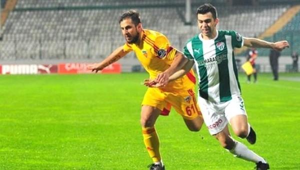 Bursaspor, Kayserispor'u ağırlayacak