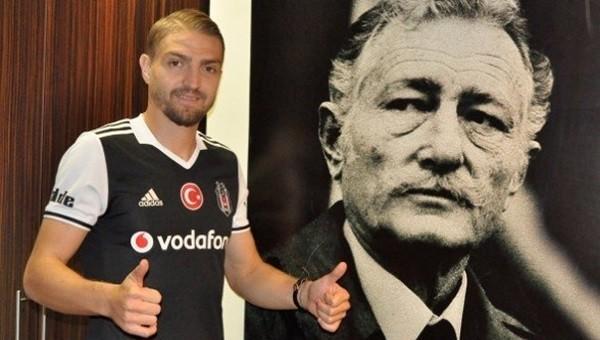 Caner Erkin Beşiktaş antrenmanında göz doldurdu
