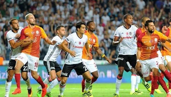 Canlı yayında Beşiktaş - Galatasaray gerilimi