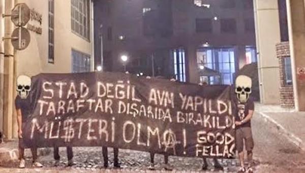 Çarşı'dan Galatasaray derbisi bilet fiyatlarına tepki