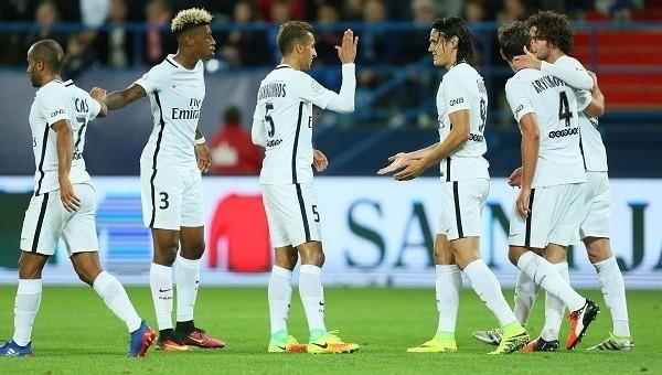 Cavani 4 gol attı, PSG fark yaptı
