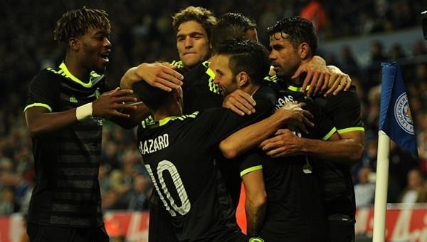 Chelsea'den geri dönüş, Leicester yıkıldı!