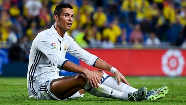 Cristiano Ronaldo 7 yıl sonra bir ilki yaşadı