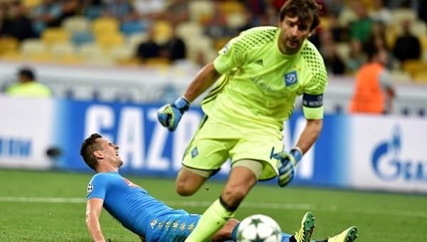 Dinamo Kievli Shovkovskiy tarihe geçti