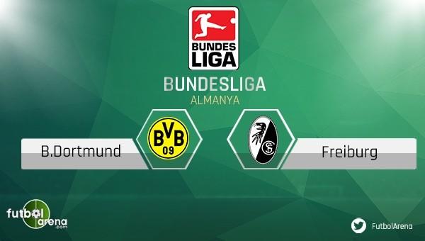 Dortmund - Frieburg maçı saat kaçta, hangi kanalda?