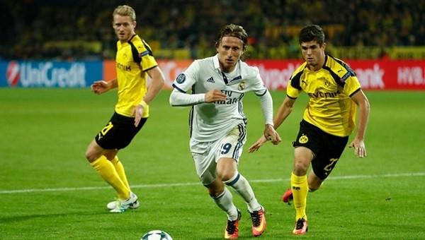 Dortmund - Real Madrid maçından galip çıkmadı