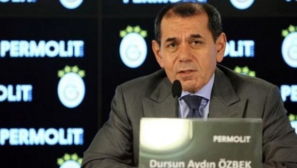 Dursun Özbek: 'Tüm kupalara ambargo koymak istiyoruz'