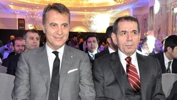 Fikret Orman ve Dursun Özbek'ten derbi öncesi taraftarlara mesaj
