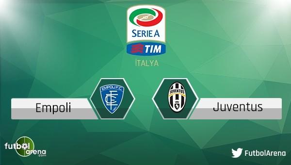 Empoli - Juventus maçı saat kaçta, hangi kanalda?