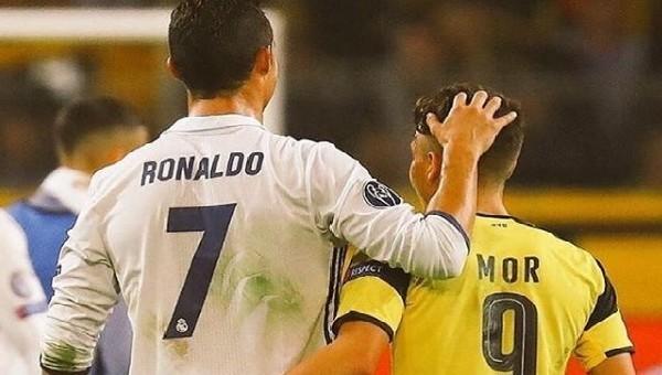 Emre Mor'dan Cristiano Ronaldo paylaşımı