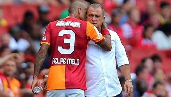 Felipe Melo'dan Terim'e büyük övgü!