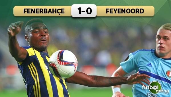 Fenerbahçe, Feyenoord'a ilk mağlubiyeti tattırdı
