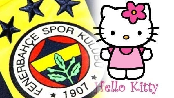 Fenerbahçe, Hello Kitty ile imzaladı