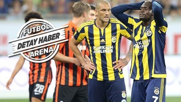 Fenerbahçe, Ukrayna takımlarını deviremiyor