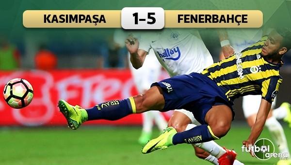Fenerbahçe'den 5 gollü galibiyet! Kasımpaşa 1-5 Fenerbahçe