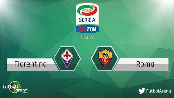 Fiorentina - Roma maçı saat kaçta hangi kanalda?
