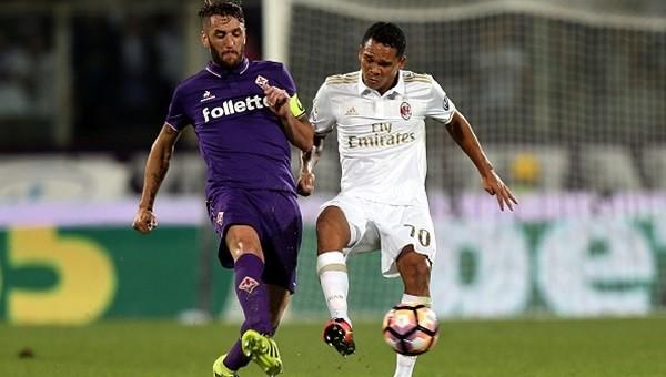 Fiorentina ile Milan yenişemedi: 0-0