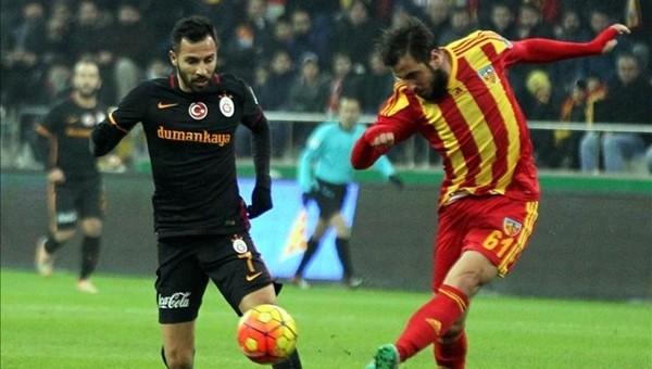 Galatasaray, Kayserispor maçında ilkin peşinde